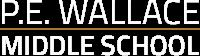 P.E. Wallace Middle School Logo